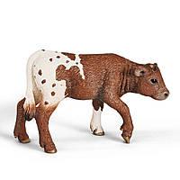 Фигурка Schleich Техасский теленок лонгхорн (13684)
