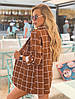 "Женский пиджак в клетку без застежки ""WROCLAW"" с карманами  (2 цвета), фото 2"