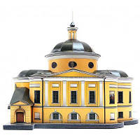 Сборная модель Умная бумага Покровский храм ставропигиального жен.монастыря (215)
