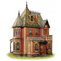 Сборная модель Умная бумага Кукольный дом викторианской эпохи (283)