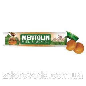 """Леденцы """"Mentolin"""" с Медом и Ментолом, без сахара, 20 г"""