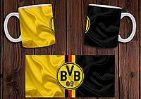 "Чашка ""ФК Боруссия Дортмунд"" / Кружка ""Borussia Dortmund BVB 09"" №1"