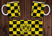 "Чашка ""ФК Боруссия Дортмунд"" / Кружка ""Borussia Dortmund BVB 09"" №2"