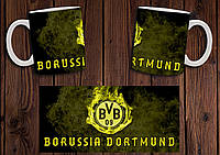 "Чашка ""ФК Боруссия Дортмунд"" / Кружка ""Borussia Dortmund BVB 09"" №3"