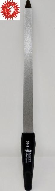 Пилочка для ногтей МERTZ металлическая с напылением 20 см 50-8MRZ
