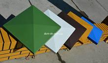Крышки для столбиков под клинкер  из бетонна - под цвет * 400х400