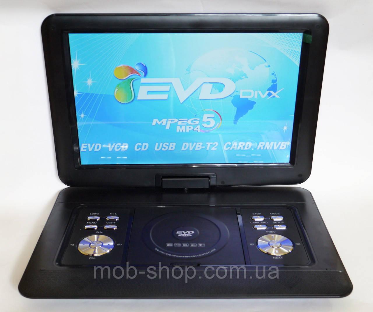 """Автомобильный переносной ДВД DVD проигрыватель Opera NS-1680 15,6"""" (как стандартный ноутбук) + Т2 игры"""
