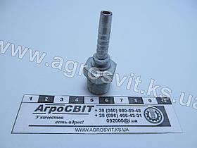 """Штуцер AGR-K 3/8""""-19  (под шланг dу=06 мм.)"""