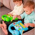 Развивающая игрушка BeBeLino Интерактивная панель Музыкальный динозавр (зеленая), (58090-2), фото 4
