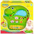 Развивающая игрушка BeBeLino Интерактивная панель Музыкальный динозавр (зеленая), (58090-2), фото 5