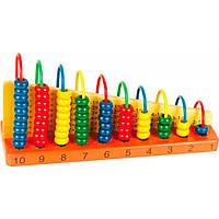 Развивающая игрушка Мир деревянных игрушек Наглядное пособие Арифметический счет (Д013)