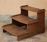 """Лестница для собак """"Чиредзи"""" капучино"""