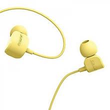 Наушники с микрофоном Remax RM 502 Желтый