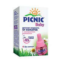Жидкость от комаров PICNIC Baby детская 45 ночей