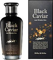 Лифтинг эмульсия с 10% экстрактом черной икры Holika Holika Black Caviar Antiwrinkle Emulsion 150 мл, фото 2