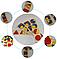 Деревянные геометрические формы  набор 4 в 1, фото 3