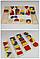Деревянные геометрические формы  набор 4 в 1, фото 2