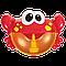 Игрушка для купания пускающая пузыри Metoo Bubble Crab 16см Красный, фото 3