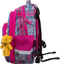 Рюкзак ортопедичний Winner 8050 + мишка для дівчаток, фото 2