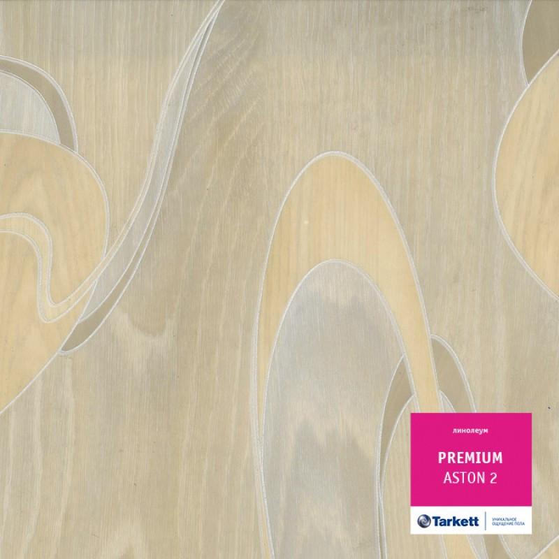 Линолеум напольный бытовой Tarkett Premium Aston 2 для дома 3 м