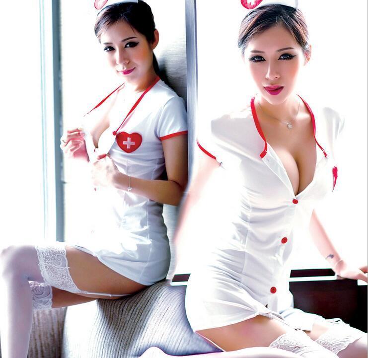 Эротический игровой костюм медсестрички (34)