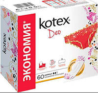 """Прокладки """"Kotex"""" щоден. Normal deo 50+10шт/-751/16"""