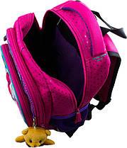 Рюкзак ортопедический Winner для девочек 1706 + брелок мишка, фото 3
