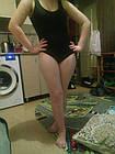 Сдельный черный купальник (50/2), фото 8