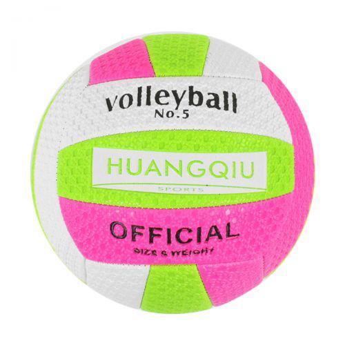 """Мяч Волейбольный """"HUANGQIU"""" (бело-розовый) Star Toys  ( TC126504)"""