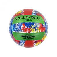 Мяч волейбольный №5 (красный) MIC C40215 ( TC128482)