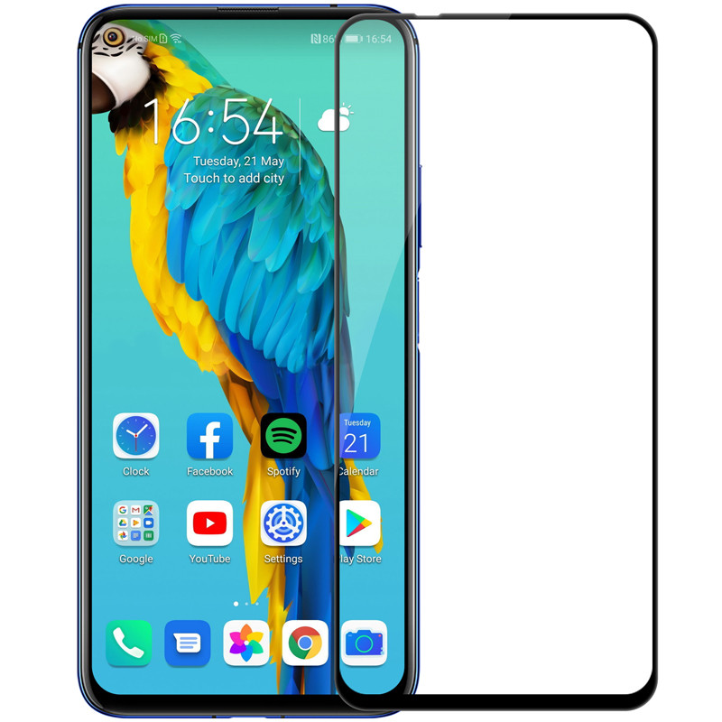 Nillkin Huawei Honor 20 / Nova 5T XD CP+MAX Black Anti-Explosion Glass Screen Protector Защитное Стекло