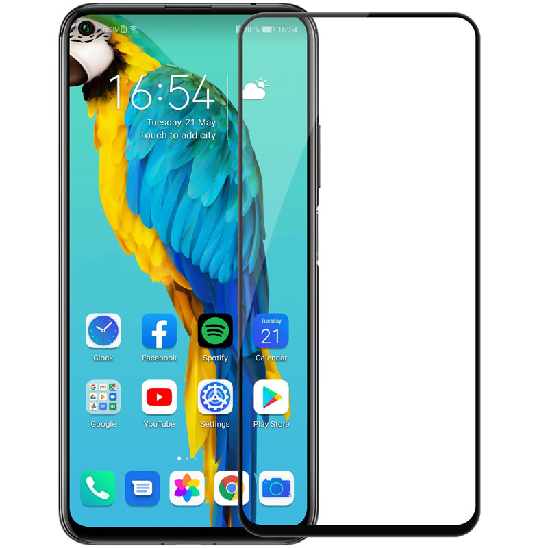 Nillkin Huawei Honor 20/ 20 Pro / Nova 5T CP+PRO tempered glass Black Захисне Скло