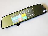 "DVR V17 Зеркало регистратор, 7"" сенсор, 2 камеры, GPS навигатор, WiFi, 8Gb, Android, 3G, фото 6"