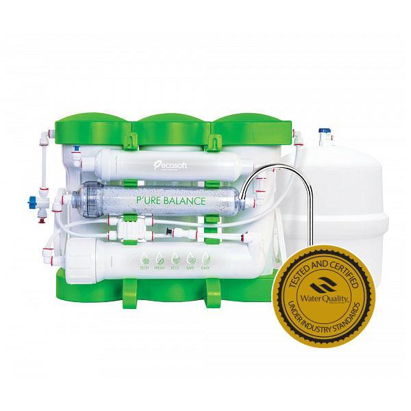 Фильтр обратного осмоса с минерализатором Ecosoft P'URE Balance