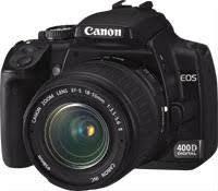 Фотоаппарат Canon EOS 400D KIT Black EF 18-55, фото 2