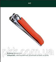 Книпсер для ногтей MERTZ с обрезиненной ручкой  442