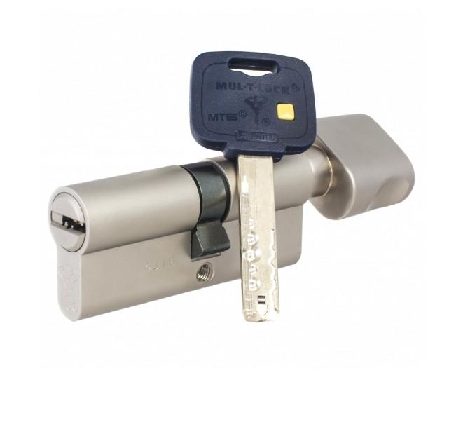 Цилиндр Mul-T-Lock MT5+ ключ/поворотник 76 мм