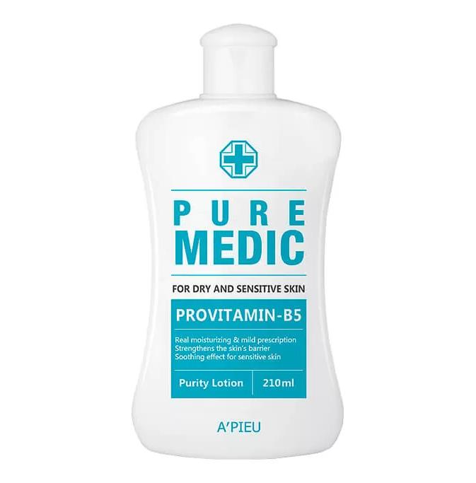 Лосьон для чувствительной и сухой кожи лица A'pieu Pure Medic Purity Lotion 210 мл (8806185784672)