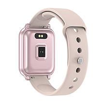 Фитнес-браслет Apl band T70, pink, фото 2