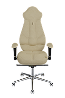 Эргономичное кресло KULIK SYSTEM IMPERIAL Кремовое 705, КОД: 1335605