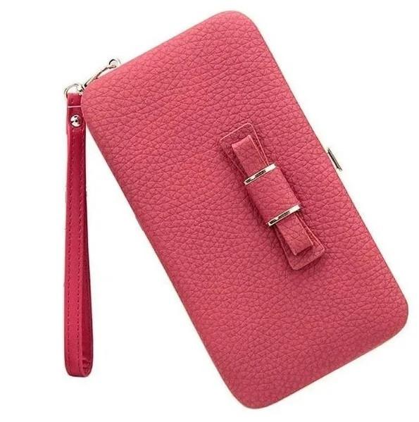 Женский кошелек портмоне BAELLERRY Pidanlu Style Красный