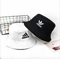 Двухстороняя Панама Adidas Черно-Белая (Двухстороняя)