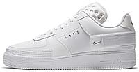 Женские кроссовки Nike Air Force 1 Type N.354 White CQ2344-101 Найк Аир Форс белые (Форсы) AF1-TYPE