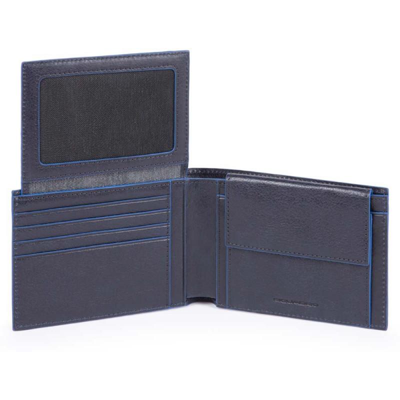 Портмоне Piquadro Blue Square B2S/Blue PU1392B2SR_BLU