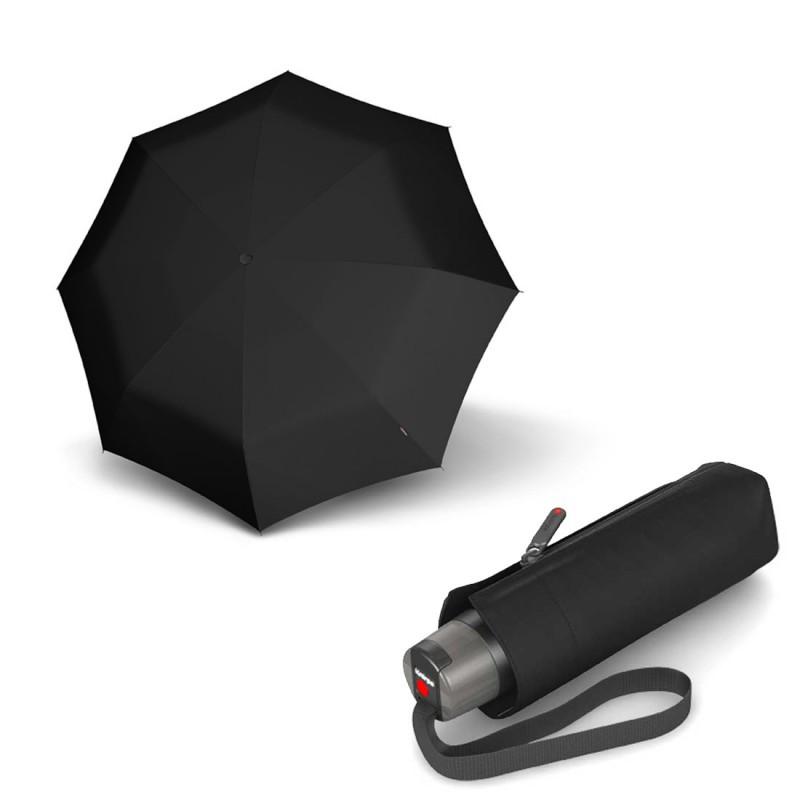 Зонт складаний Knirps T. 010 Small Manual Black Kn9530101000