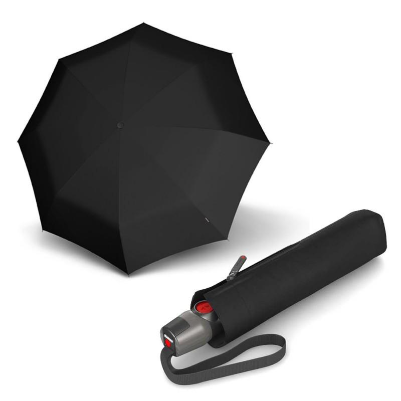 Зонт складаний Knirps T. 200 Medium Duomatic Black Kn9532001000