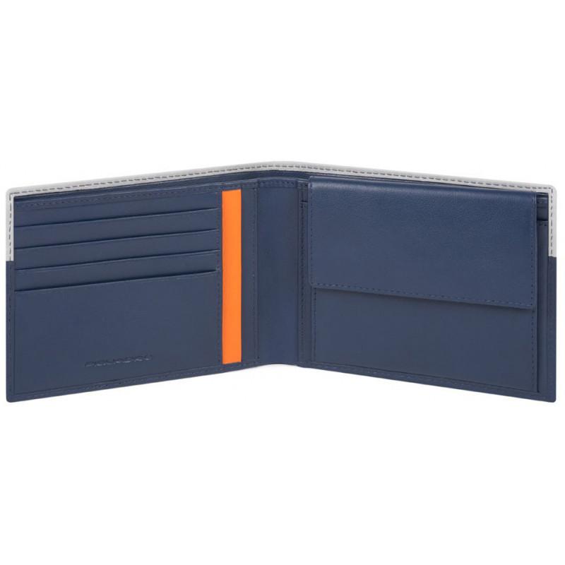 Портмоне Piquadro URBAN/Blue-Grey2 PU257UB00R_BLGR