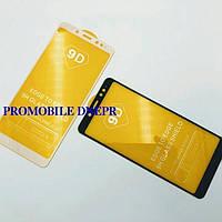 9D Защитное стекло FullGlue Xiaomi RedMi 6 Pro/A2 Lite черны