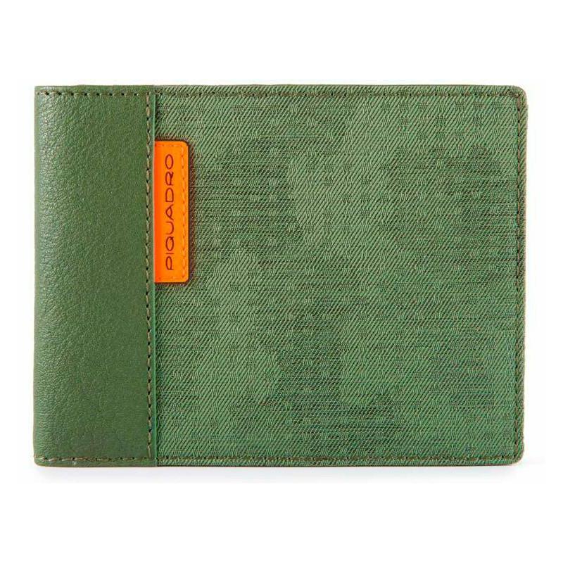 Портмоне Piquadro BLADE/Green PU1241BL_VE