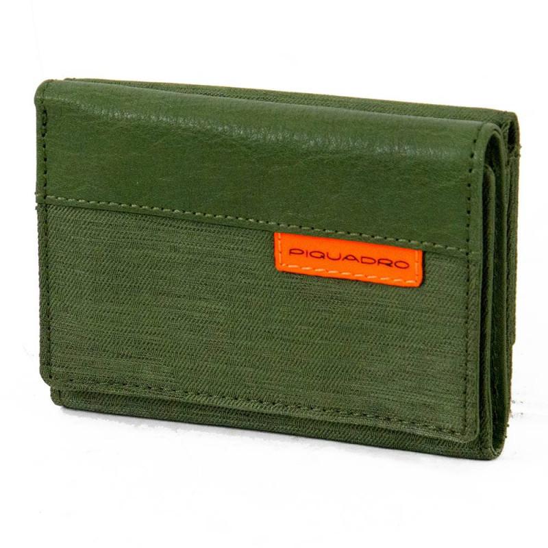 Портмоне Piquadro BLADE/Green PU4455BL_VE